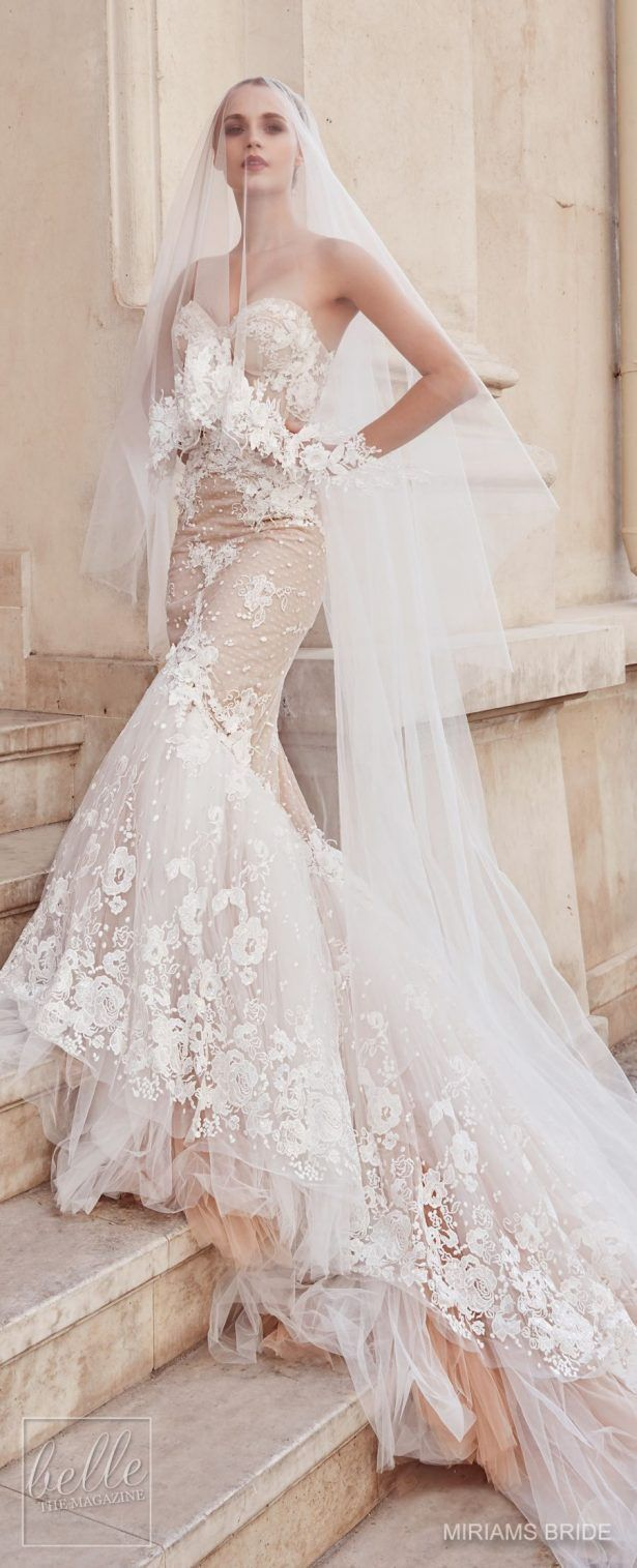 Wedding dress by miriams bride collection weddingdresses