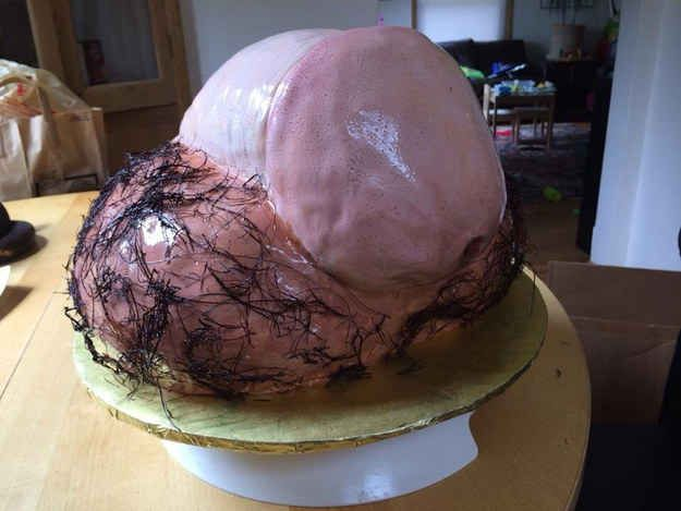 It's okay, I never wanted to eat again anyway. | 17 Horrifyingly NSFW Hen Night Cakes