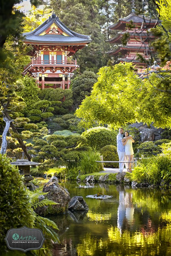 San francisco japanese tea garden photos engagement - Japanese tea garden san francisco ...