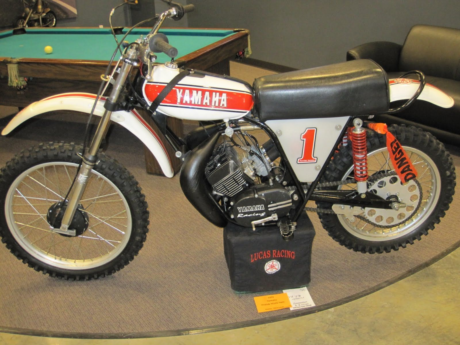 Twin Cylinder Two Stroke Motorcycle 1974 Yamaha Yz 125 Twin Yes