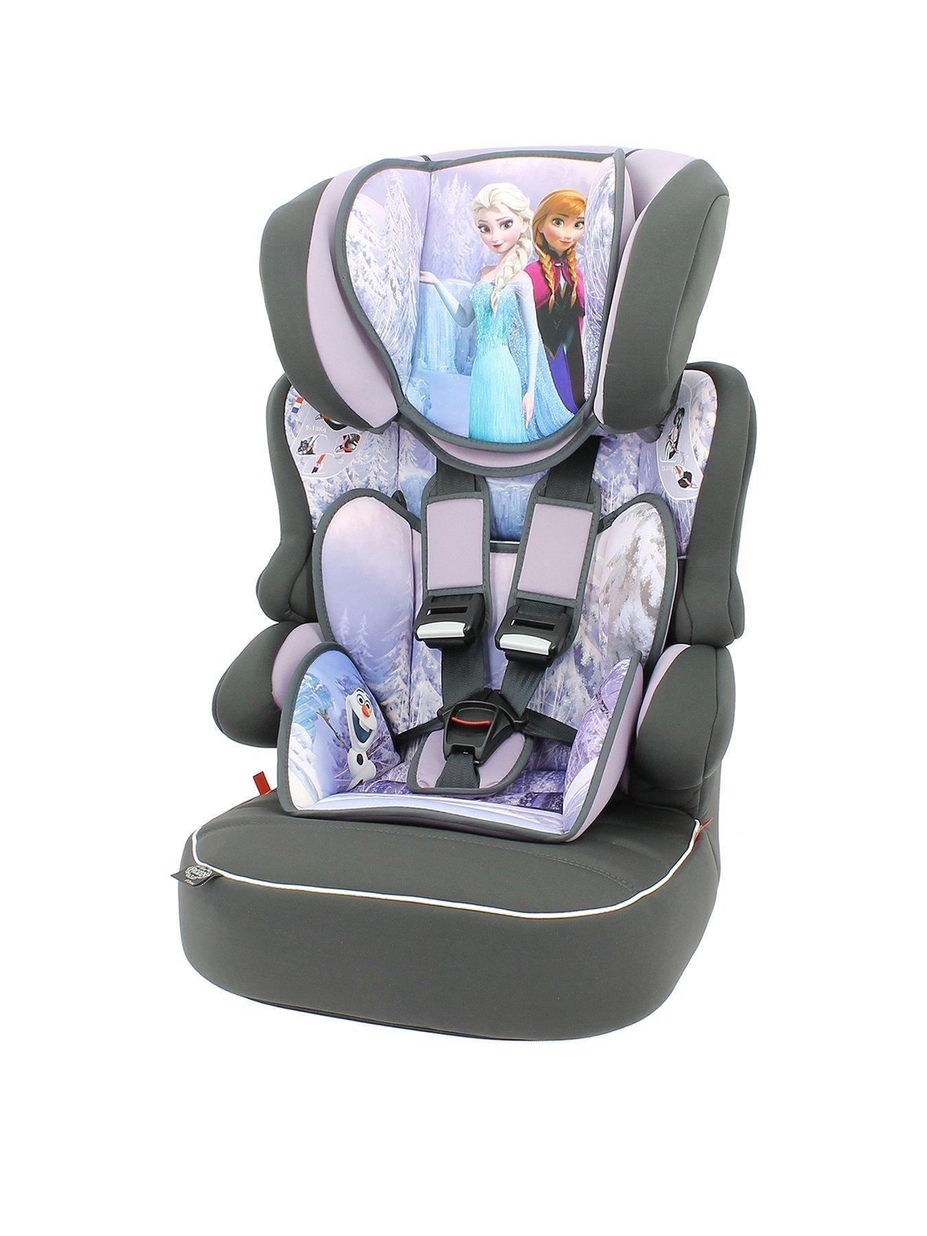 Frozen Beline SP Group 123 Car High Back Booster Seat