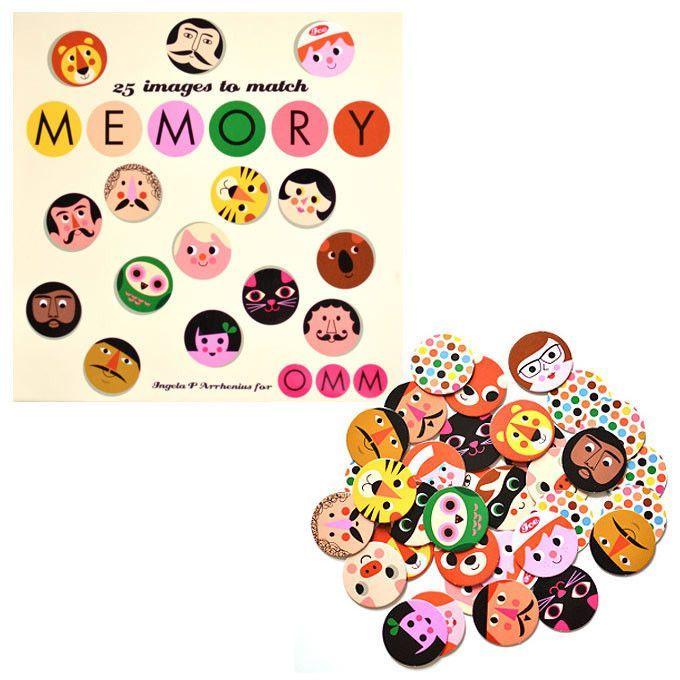 OMM Design memory game face