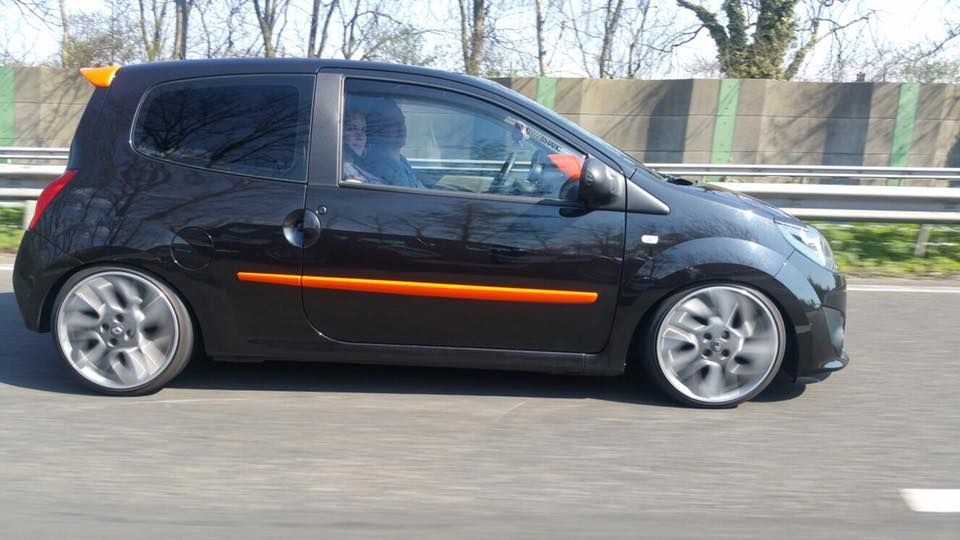 Twingo 2 Tuning Rollin Photo Renault Sport Voiture Twingo Rs