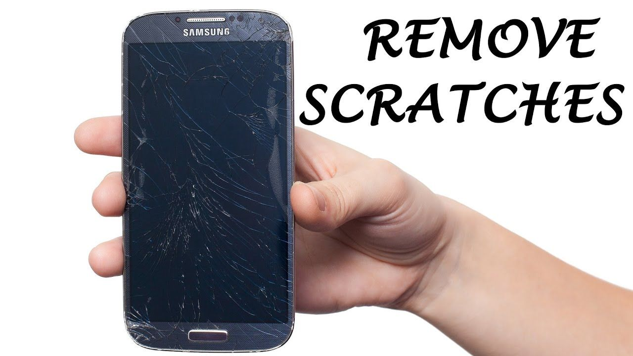 How To Remove Scratches From A Phone Screen Phone Screen Phone Iphone Glass