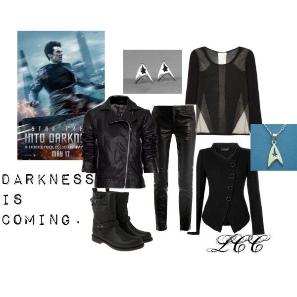 """Star Trek into Darkness Fashion"" by ouatdreamer on Polyvore, Benedict Cumberbatch, Inspired, Khan,"