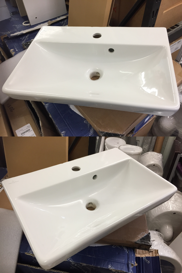 Details About Villeroy Boch Avento Basin Semi Pedistal 550mmx370mm Bathroom Design Plans Bathroom Design Inspiration Bathroom Design Concepts