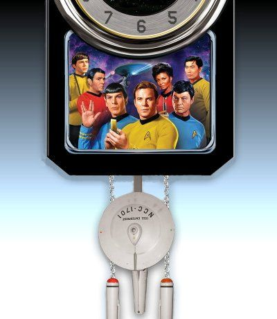 Star Trek Cuckoo Clock - detail 2
