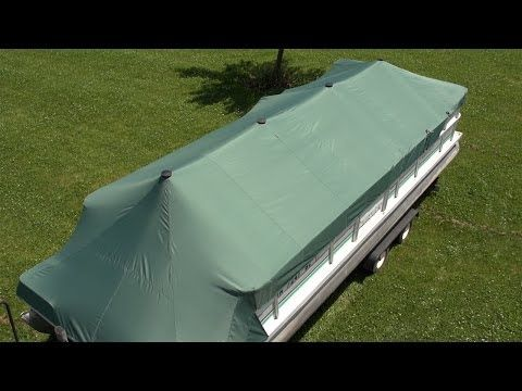 How To Make A Pontoon Boat Cover Do It Yourself Advice Blog Pontoon Boat Covers Boat Covers Boat Building