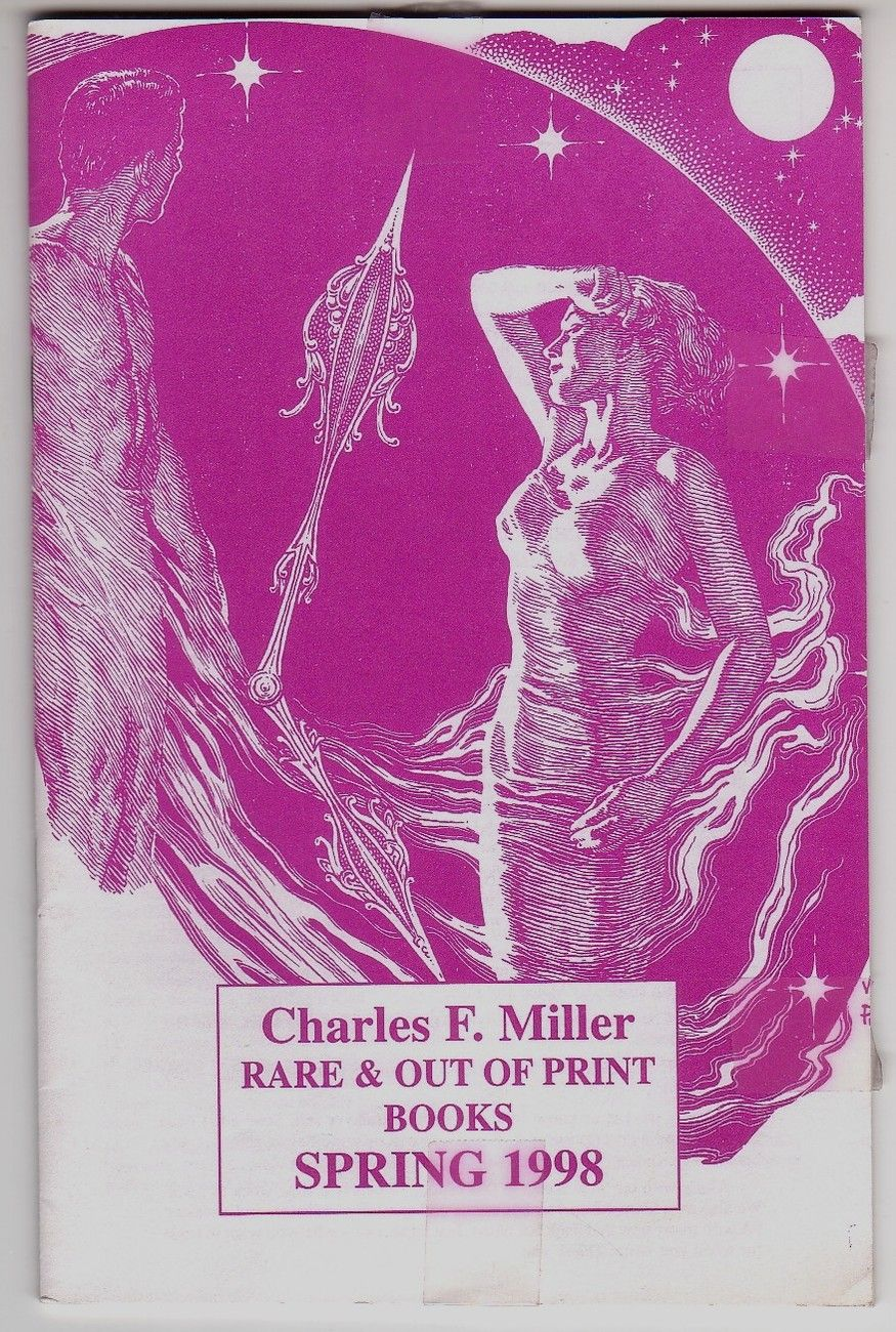 Cover of Charles Miller Catalog (Spring 1998) by Virgil Finlay