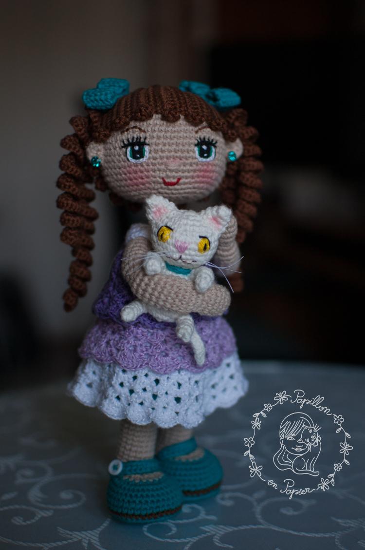 Muneca Alexa / Alexa doll - free crochet / amigurumi doll pattern