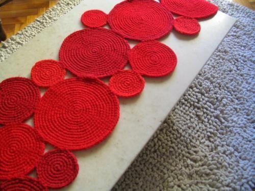 Photo of Kreis Häkelteppich, #Circle #Crochet #PatchworkdeckeSitrickenrosa #Rug