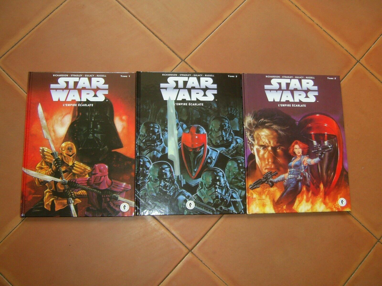 Star Wars L Empire Ecarlate Tome 1 Tome 2 Tome 3 Ed Dark Horse 3 Bd