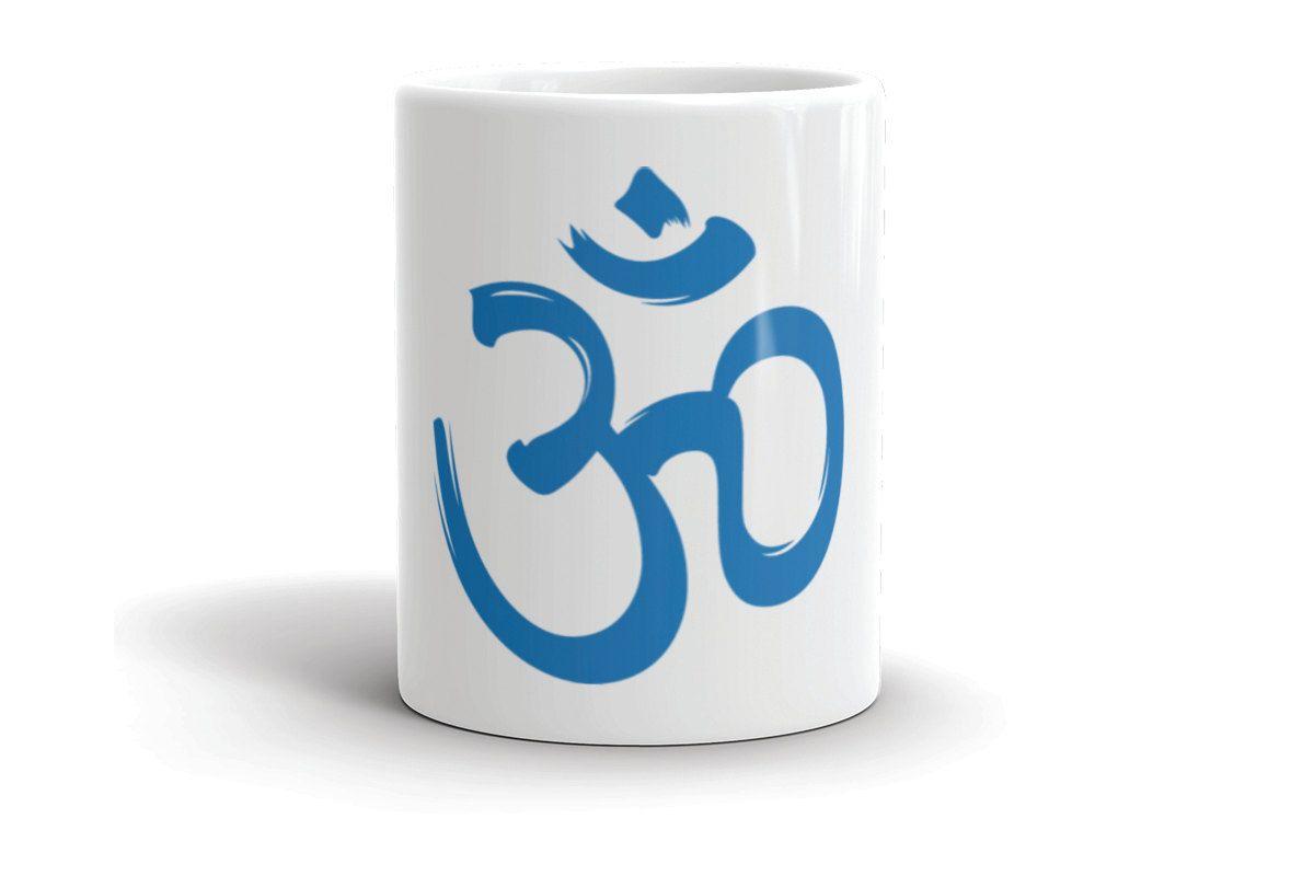 A U M Om Yoga Symbol Om Yoga Symbol Coffee Mug Yoga Coffee Mugs