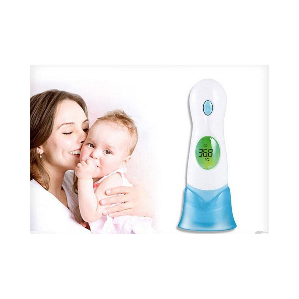 8 In 1 Baby Adult Body Ear Forehead Ambient Clock Infrared Digital