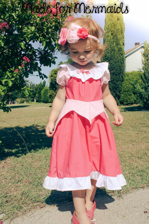 Sleeping Beauty's Dress - from peasant dress.