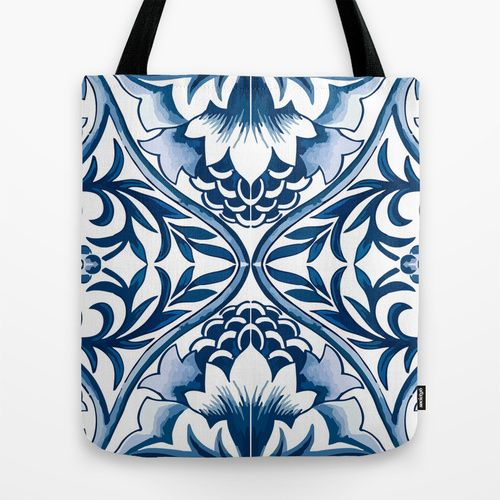 VIDA Statement Bag - Geometric Waves by VIDA uCEHde