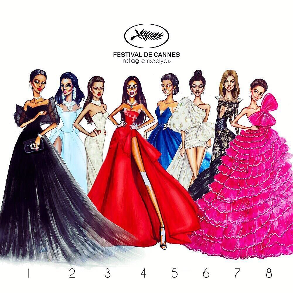 Image May Contain 8 People Fashion Illustrator Fashion