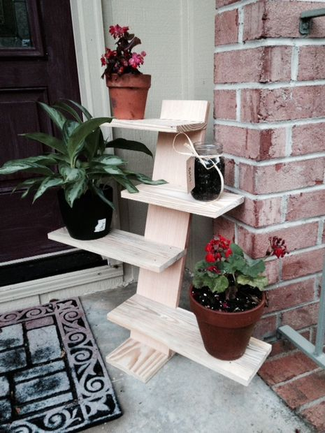 Pallet Plant Stand Pallet Furniture Diy Plant Stand