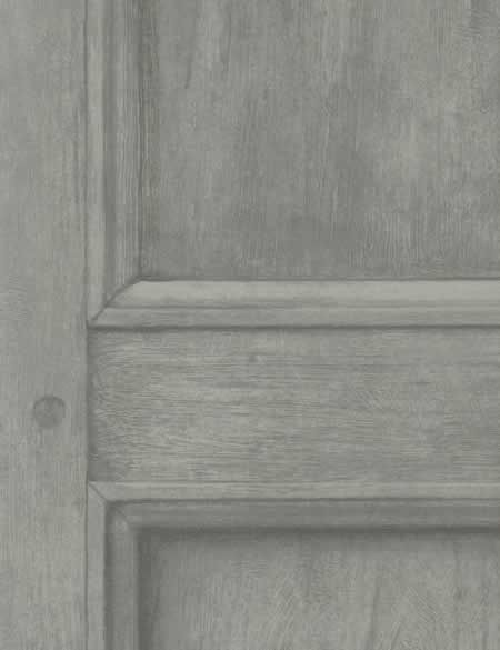 Engineer Collection Regent Wood Panelling Wallpaper available in Linen, Ivory, Grey