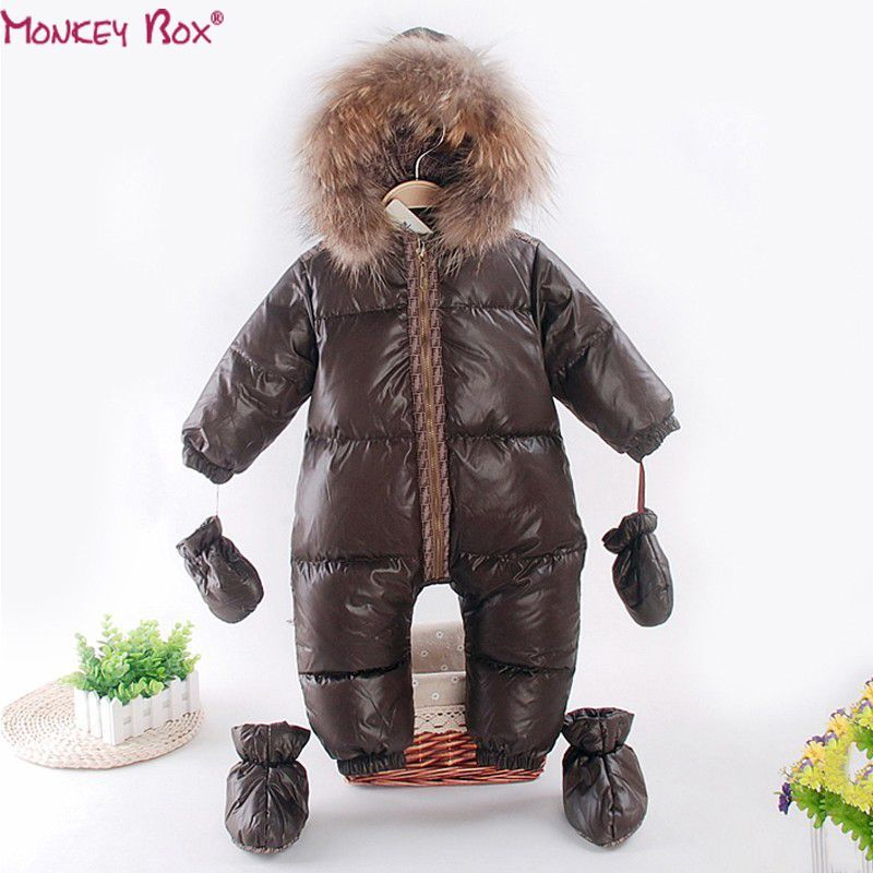 e966aef19 2017 winter romper baby boy clothes newborn cotton- padding rompers ...