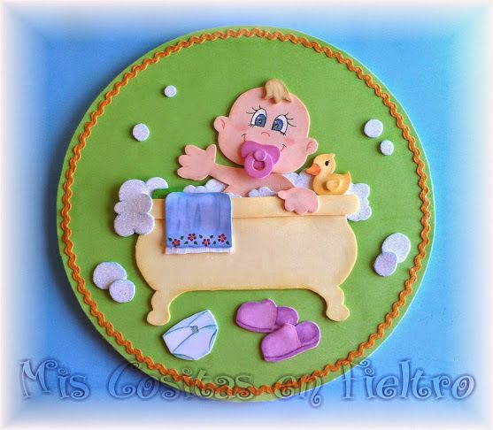 Cartel ba o ba era beb goma eva foami para la pared moises pinterest - Cartel bano ...