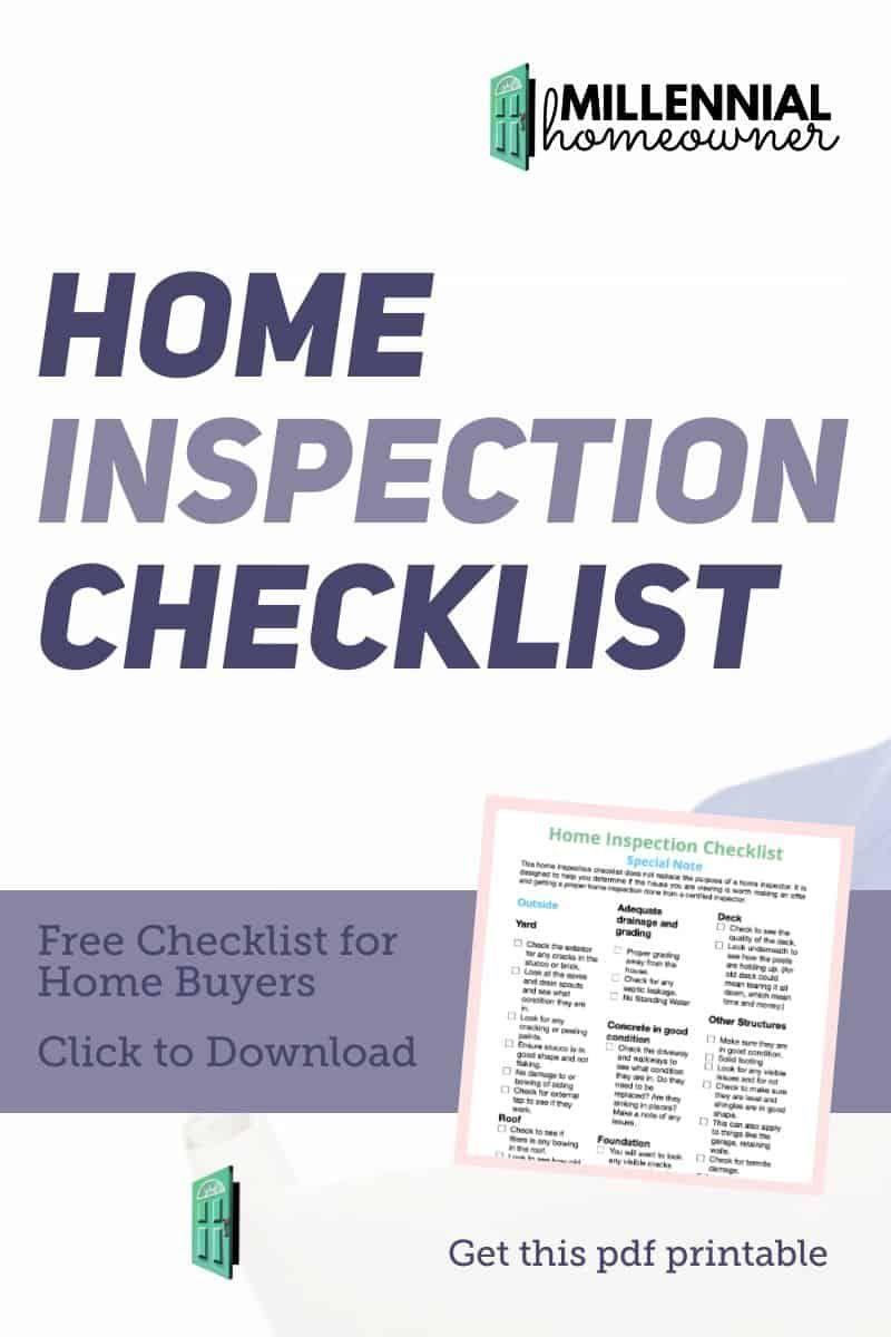 Home Inspection Checklist Pdf Printable Inspection Checklist Home Inspection New Home Checklist