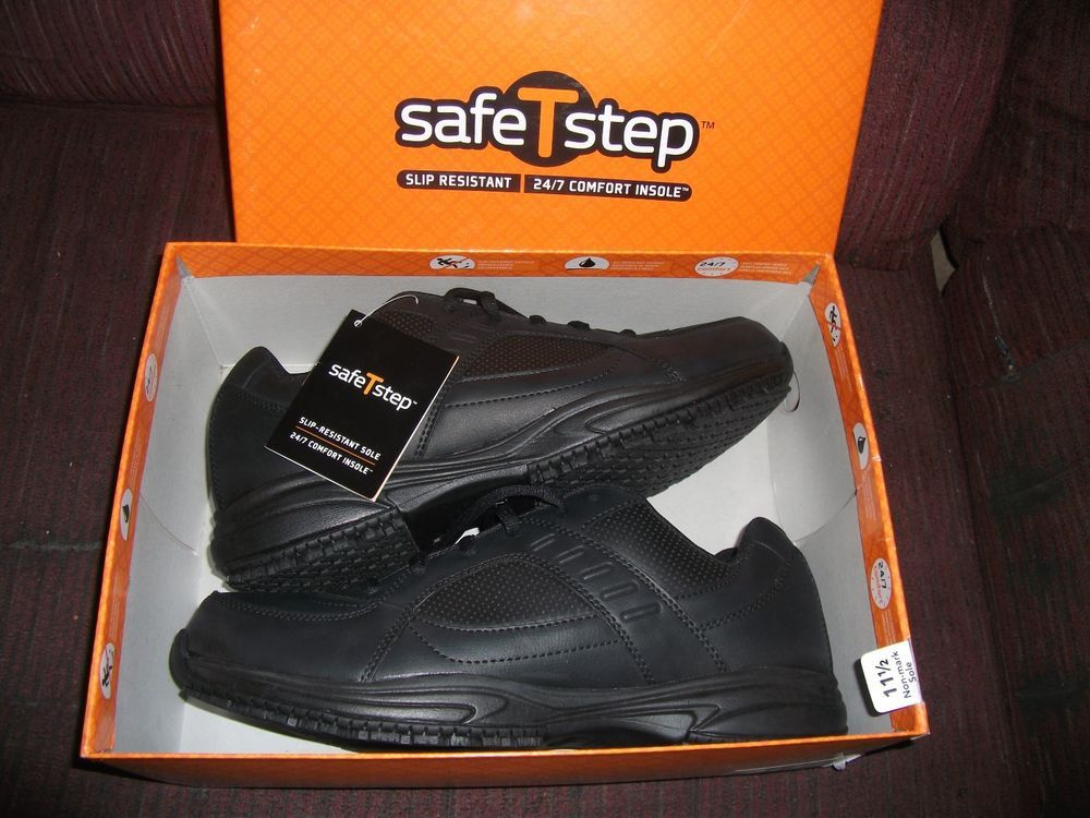 MENS SHOES SAFE-T-STEP NON SKID WORK