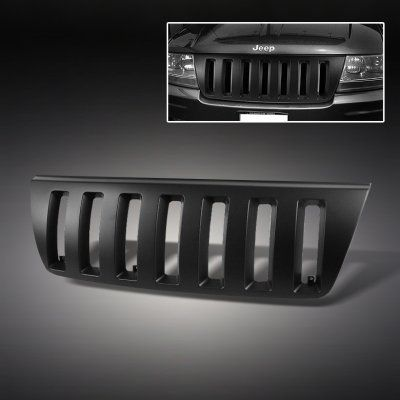 Jeep Grand Cherokee 1999 2003 Black Vertical Grille Jeep Grand