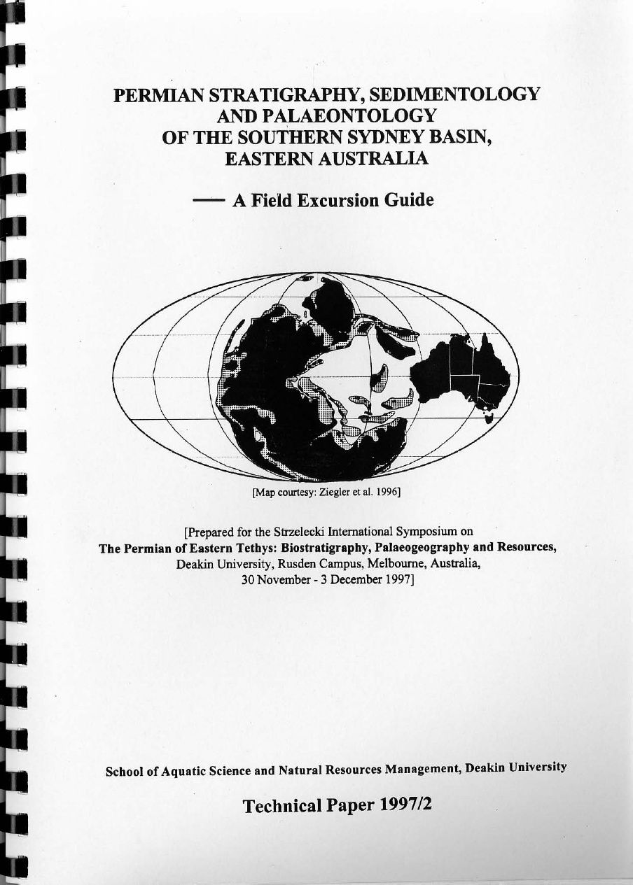 Permian stratigraphy, sedimentology and palaeontology of the southern Sydney Basin, eastern Australia - a field excursion guide | Stephen McLoughlin - Academia.edu