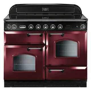 Falcon Stove In Cranberry Or Black For My Next Kitchen Is A Must Range Cooker Gas Range Cookers Induction Range