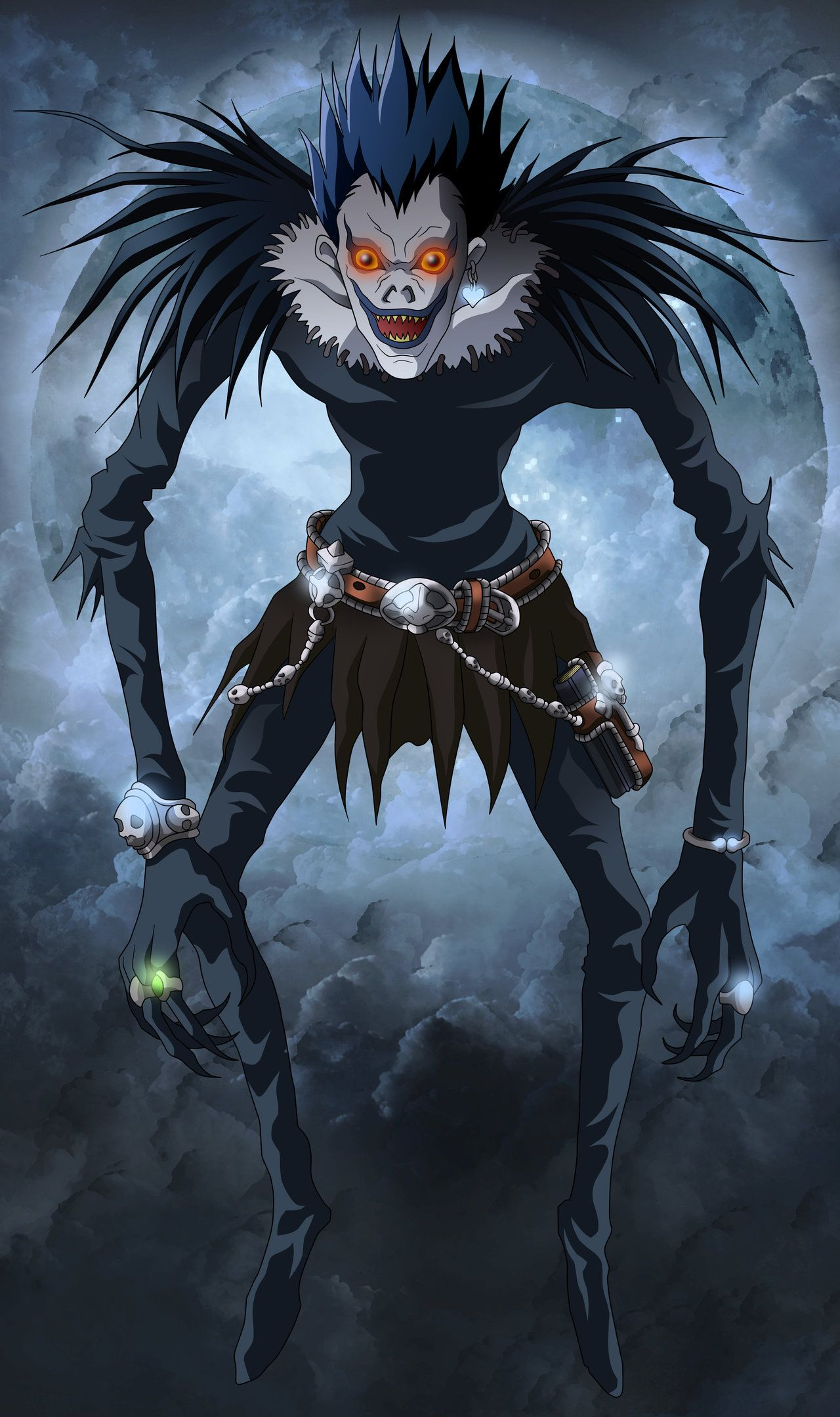 Ryuk Death Note Cosplay Death Note Death Note Fanart