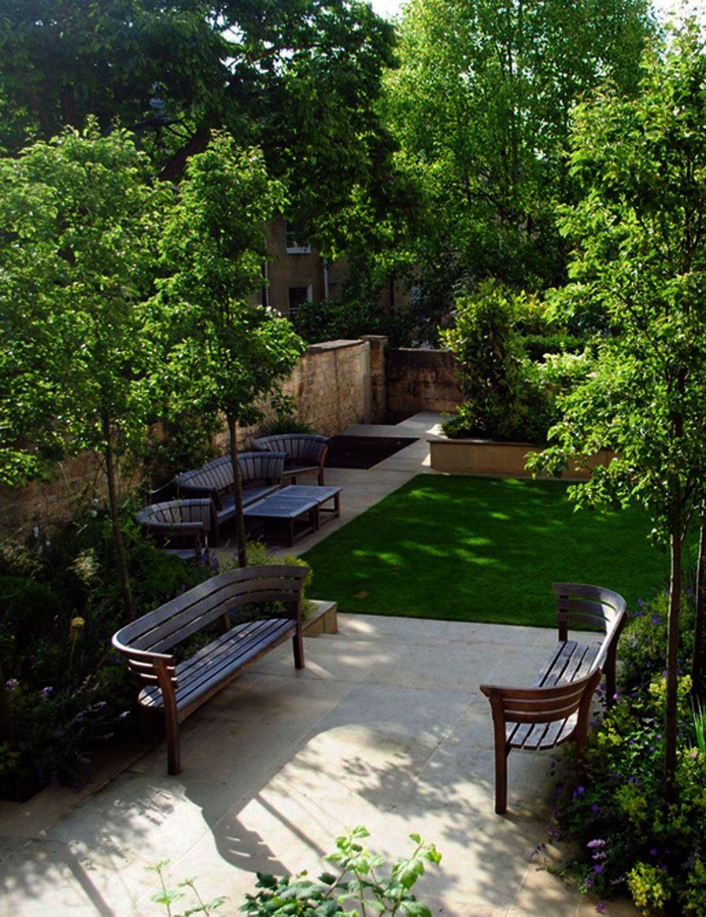 Landscape Gardening Jobs In Canada That Landscape Architecture Design Stages Soon Lan Courtyard Gardens Design Backyard Landscaping Designs Small Garden Design