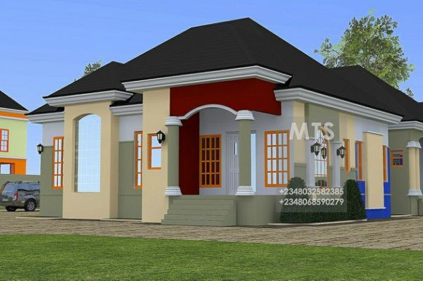 Nigerian House Plans Free House Bungalow Design House Front Design Bungalow House Design