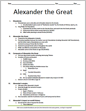 Thesis In A Essay Macedonia Alexander The Great And The Hellenistic World  Free Printable  Outline For Grades  Essay Learning English also Health And Fitness Essay Macedonia Alexander The Great And The Hellenistic World  Free  Science And Technology Essay