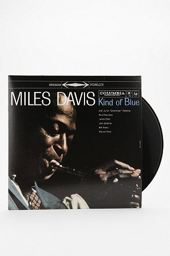 Arguably the best jazz album of all time. Miles Davis - Kind Of Blue LP #urbanoutfitters