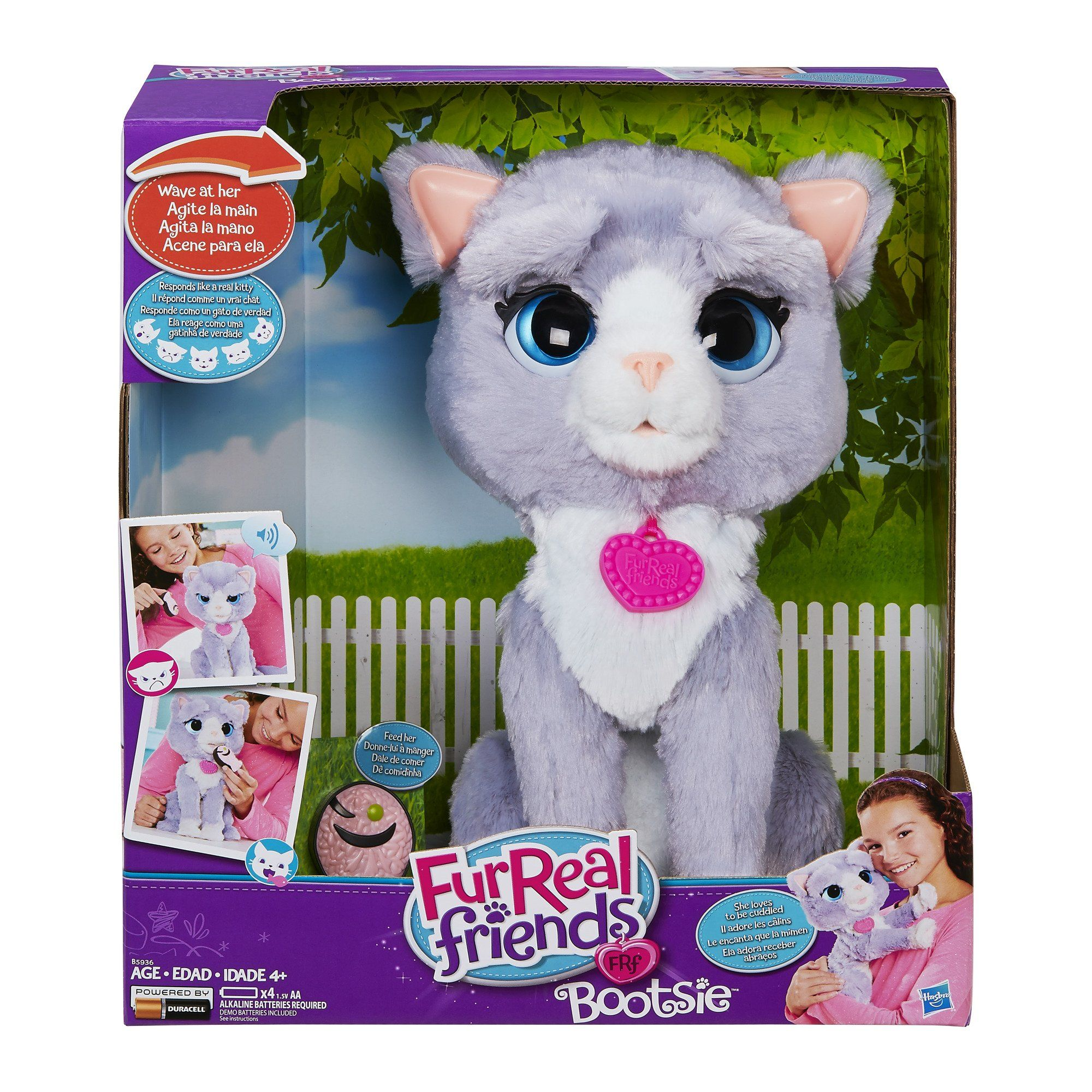 Robot Check Fur Real Friends Baby Snow Leopard Cool Gifts For Kids