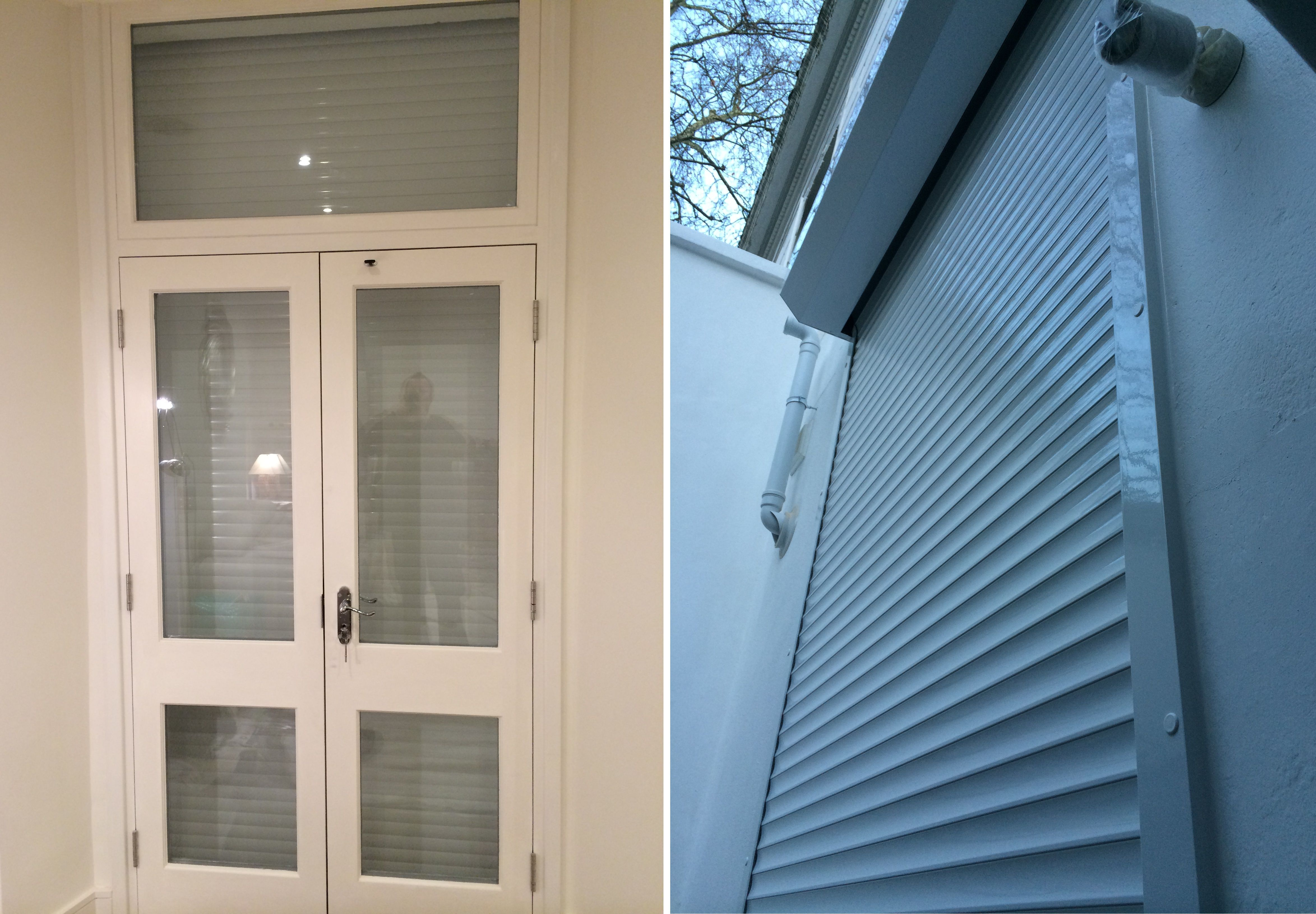 RSG5100 continental shutter solution securing rear patio doors of residential property in Earl\u0027s Court. | Security Roller Shutters | Pinterest | Patio doors ... & RSG5100 continental shutter solution securing rear patio doors of ...