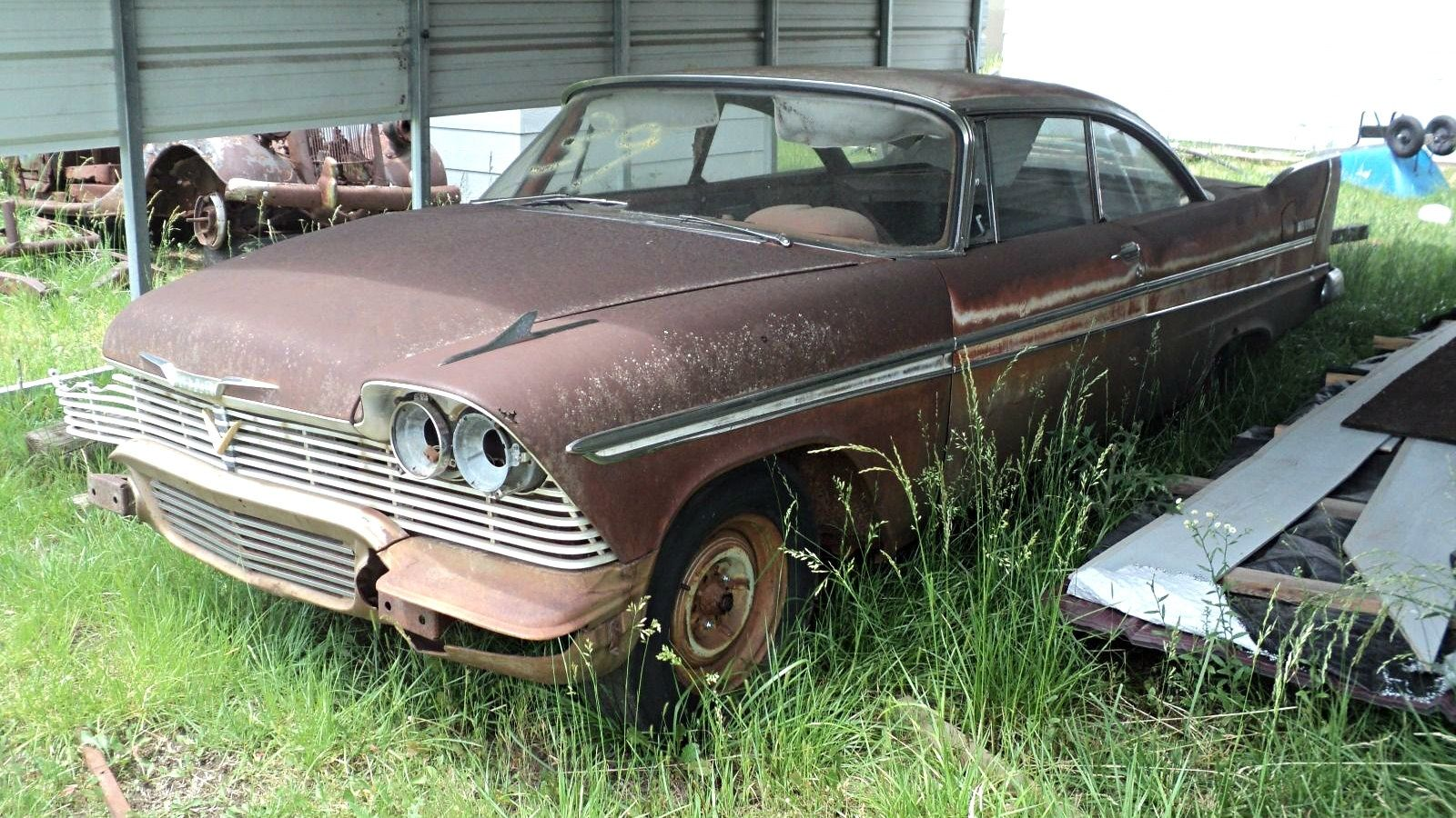 1955 dodge royal barn find for sale - Movie Look Alike 1958 Plymouth Belvedere Find This Pin And More On Barn Finds