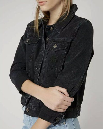 Need Pinterest Om Y Jacket Usada I Denim Black Ropa Outfits qgOTTf