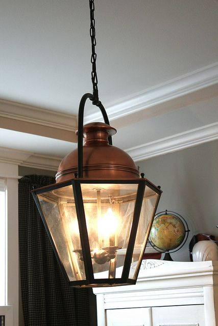 My New Dining Room Lantern is Here | Dining room light fixtures ...