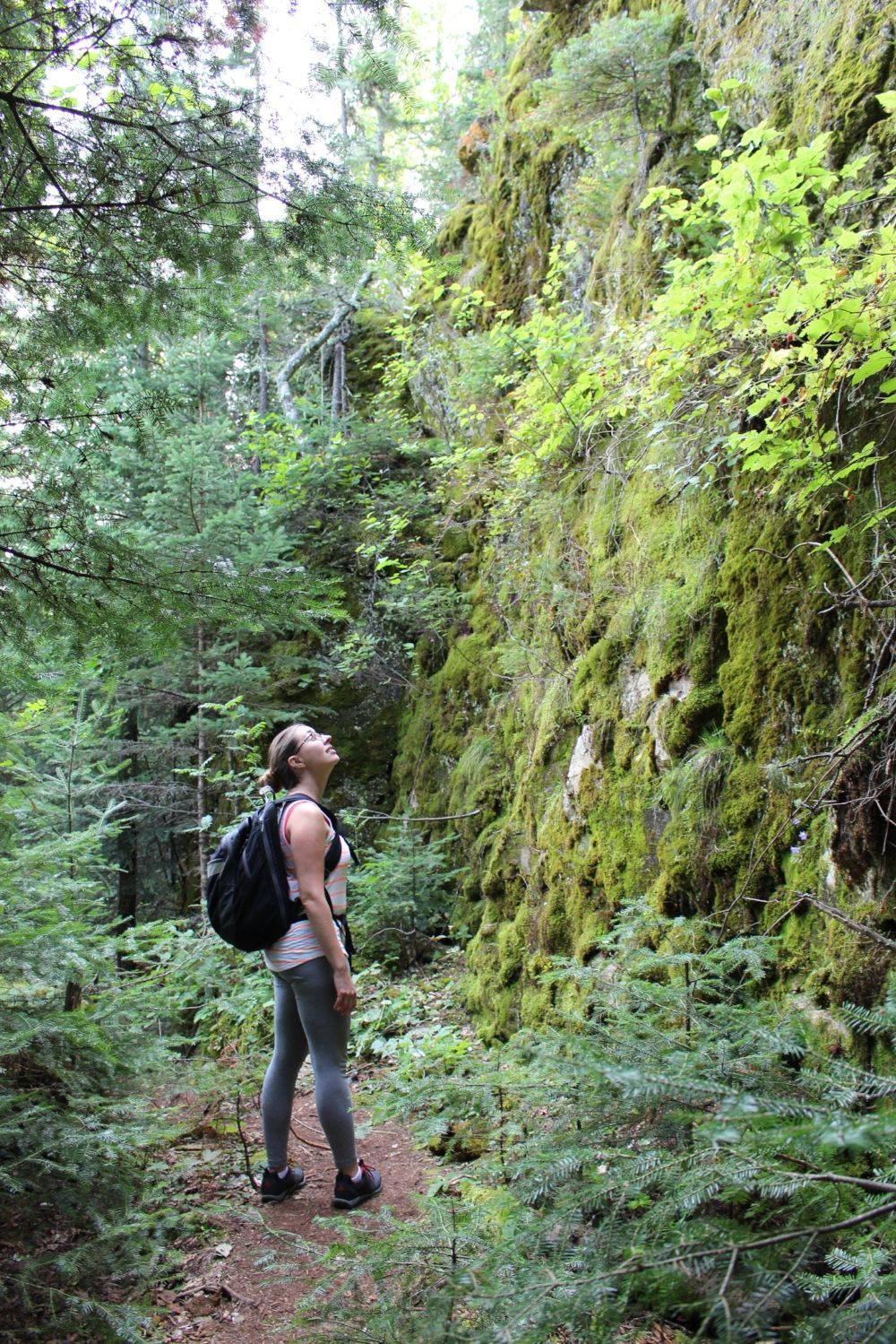 The Caves hike, Clearwater Lake Provincial Park | Northern
