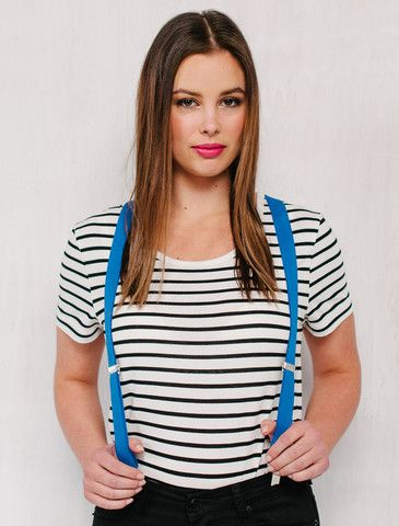071387f69f Cargo Crew - Women's Riviera Striped T-Shirt - Vanilla & Black - Online Uniform  Shop Australia