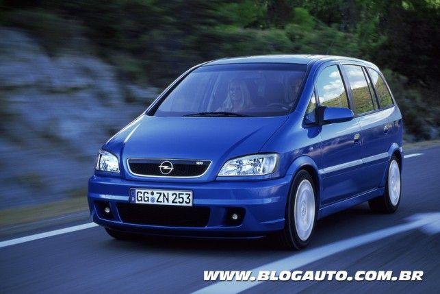Galeria De Fotos Do Chevrolet Zafira Opc 2002 Blogauto