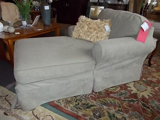 Restoration Hardware Slipcover Chaise Lounge