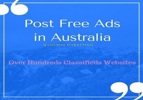 free ad posting sites in australia