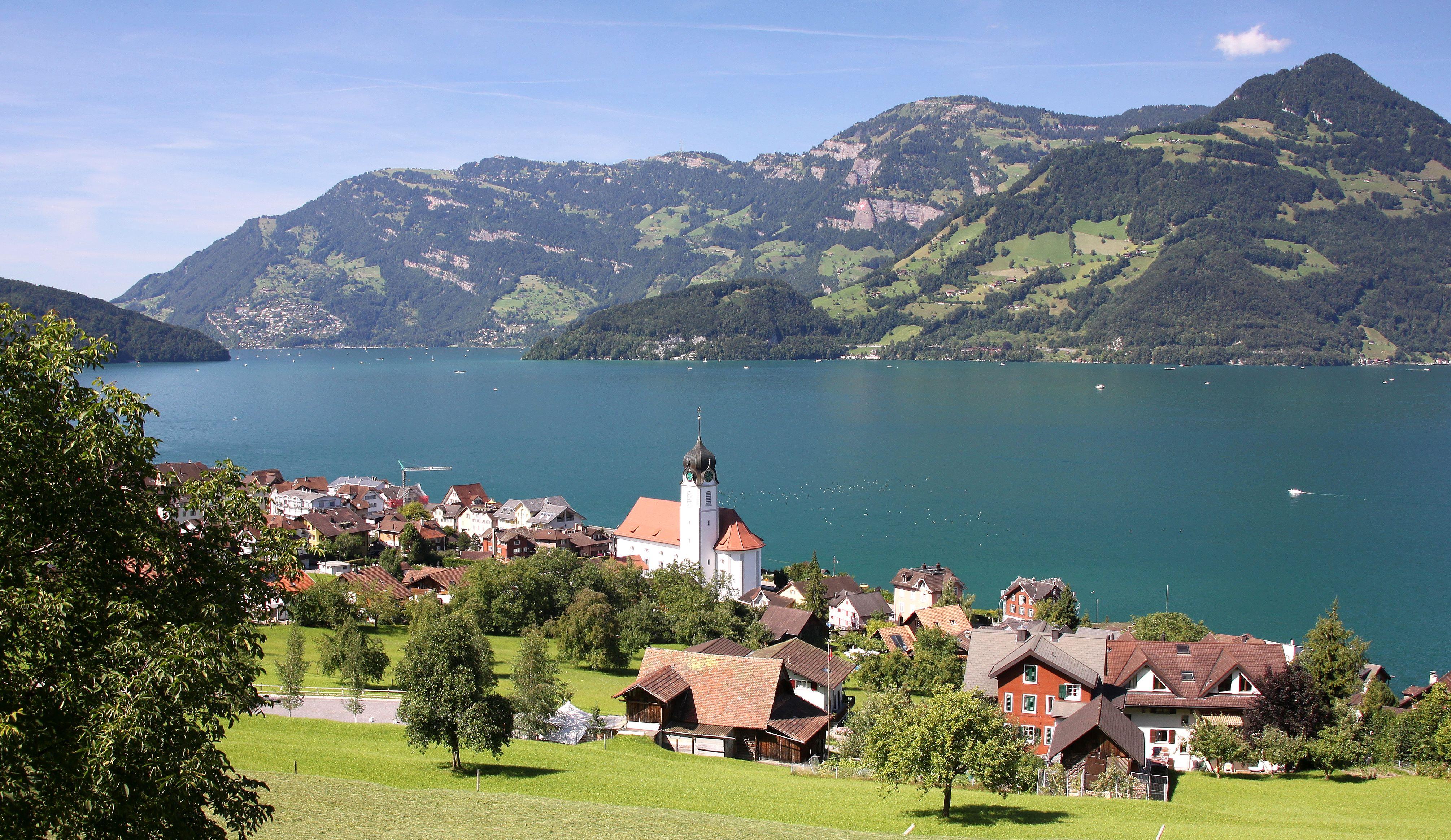 Schweiz Vierwaldstättersee (Lake of the four forest