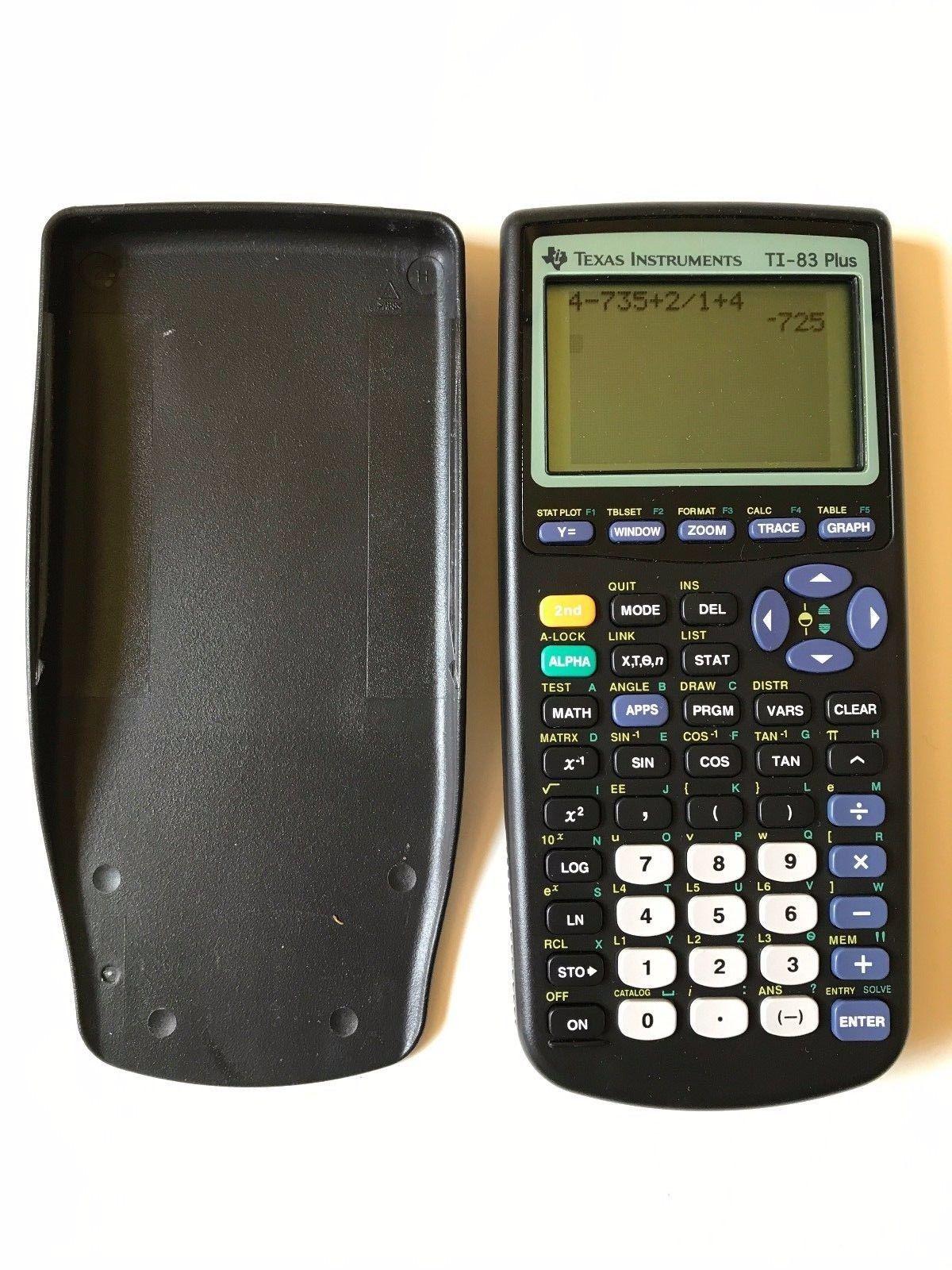 ti 83 plus calculator instructions