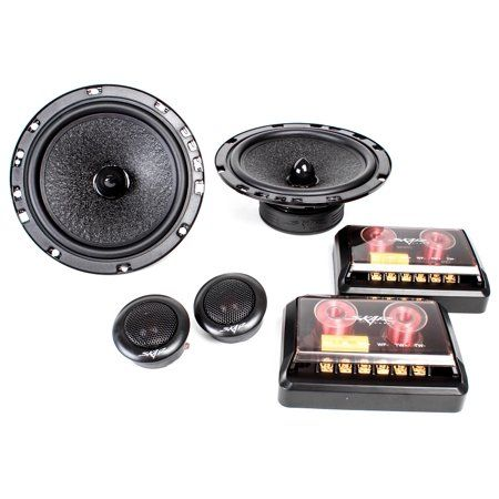Skar Audio SK65C 6.5-Inch 2-Way 160 Watt Component Speaker System - Pair - Walmart.com #componentspeakers
