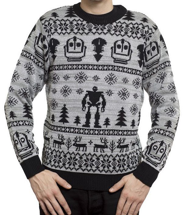 Iron Giant And Gremlins Christmas Sweaters From Mondo