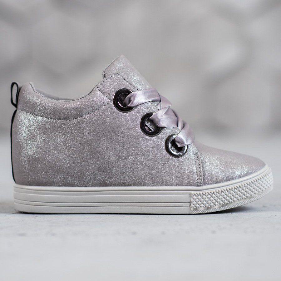 New Tlck Obuwie Wiazane Wstazka Szare Comfort Shoes Women Shoes Plastic Heels